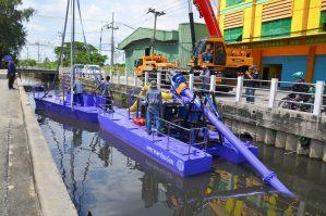 เรือดูดเลน ปั๊มดูดเลน เครื่องดูดเลน เรือดูดโคลน ปั๊มดูดโคลน เครื่องดูดโคลน